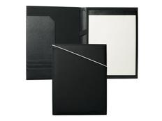 Папка с блокнотом Cerruti 1881 Spring А4, насыщенный черный фото