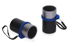 Колонки беспроводные стерео Q jet Mates TWS, черные/ синие фото