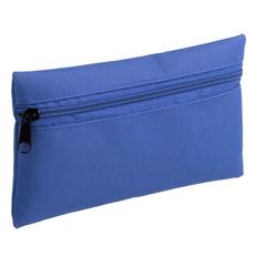 Пенал из полиэстера на молнии Unit P-case, ярко-синий фото