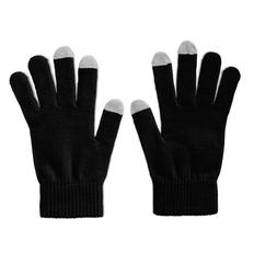Перчатки для сенсорных экранов, черные фото