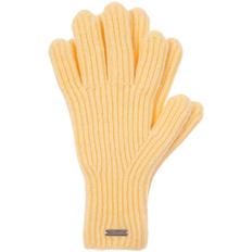 Перчатки Sherst Bernard, желтые фото