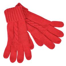 Перчатки сенсорные Irish, 100% акрил, красные фото