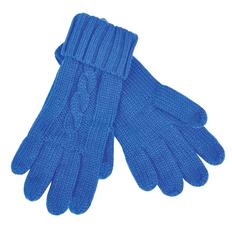 Перчатки сенсорные Irish, 100% акрил, синие фото