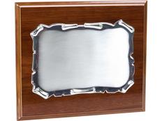 Плакетка Ренессанс, серый, коричневый фото