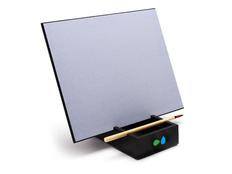 Планшет для рисования водой Акваборд, серебряный / чёрный фото