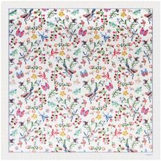 Платок Cacharel Butterfly Silk, белый/ разноцветный фото