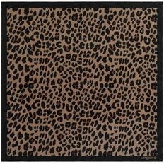 Платок Ungaro Leopardo Silk, коричневый фото