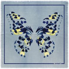 Платок Cacharel Madeleine, голубой фото