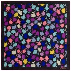 Платок Ungaro Neon Silk, розовый/ разноцветный фото