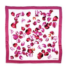 Платок шейный Balzano в футляре, розовый/ белый фото