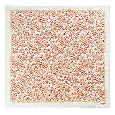 Платок шейный Cacharel Colombes Beige, белый, оранжевый/ белый фото