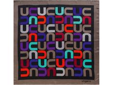 Платок Ungaro Monogramma, разноцветный фото