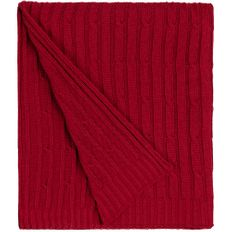 Плед акриловый Teplo Remit, красный фото
