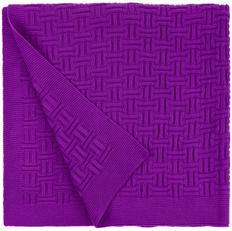 Плед teplo Biscuit, фиолетовый фото