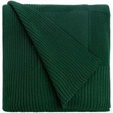 Плед Chess Queen, темно-зеленый фото