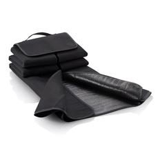 Плед для пикника, черный фото