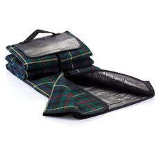 Плед для пикника Tartan , черный фото
