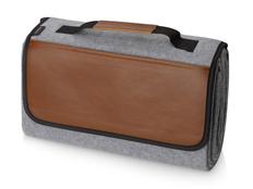 Плед для пикника Field&Co Campster, коричневый / светло-серый фото