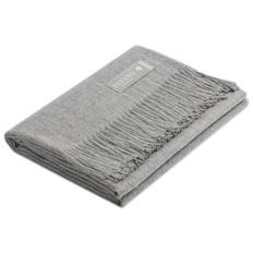 Плед Luxury из 100% шерсти альпака, серый фото