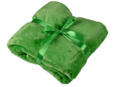 Плед мягкий флисовый Fancy, зелёный фото