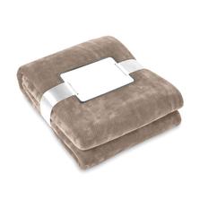 Одеяло флисовое 180 г/м2, коричневый фото