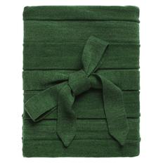 Плед Pleat, зеленый фото
