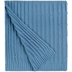 Плед акриловый Remit, синий (индиго) фото