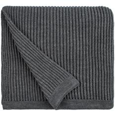 Плед Very Marque Shirr, серый меланж фото