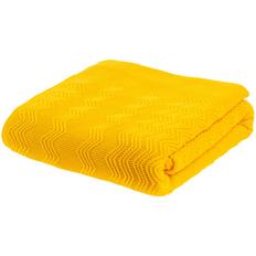 Плед Teplo Marea, желтый фото