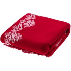 Плед Teplo Onego, красный фото