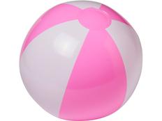 Пляжный мяч Palma, розовый/белый фото
