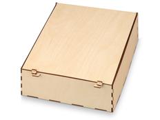 Подарочная коробка legno, бежевый фото