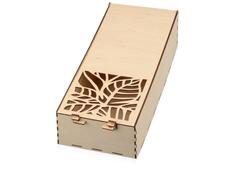 Подарочная коробка Wood, прозрачный фото
