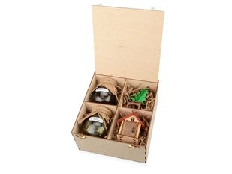 Набор подарочный Abete: варенье, 2 вкуса, подвески на елку, крафт / разноцветный фото