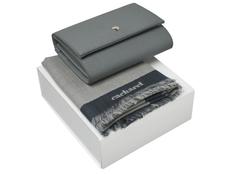 Набор подарочный Cacharel Bird: шарф, сумочка, серый фото