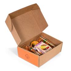 Подарочный набор Чай по-царски, оранжевый фото
