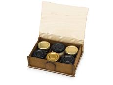 Набор подарочный Cream mix Deluxe: мед и варенье, 6 вкусов, крафт фото