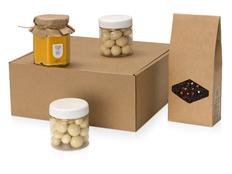Подарочный набор Honey Tasty Superior, коричневый фото