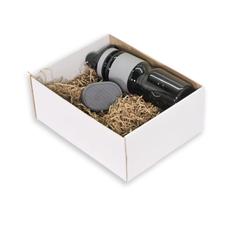 Подарочный набор Portobello: колонка Trendy, спортивная бутылка Corsa, серый фото