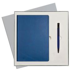 Набор подарочный Portobello Sky: ежедневник недатированный А5, ручка шариковая, синий фото