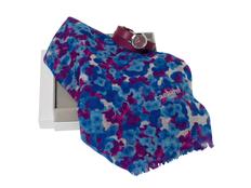 Подарочный набор Tourbillon: шарф, часы наручные, синий/красный фото