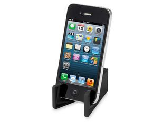 Подставка для смартфона Slim, черная фото