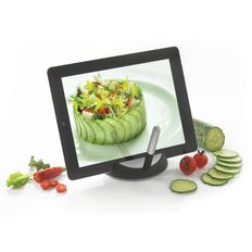 Подставка для планшета XD Design Chef со стилусом, черная/ серая фото