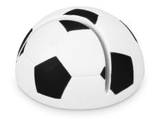 Подставка для визиток Футбол, черный, белый фото