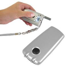 Подсветка для телефона на липучке, серая фото