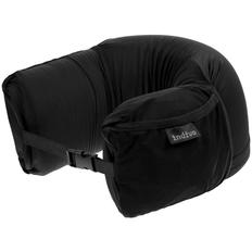 Подушка дорожная Indivo SupSleep, черная фото
