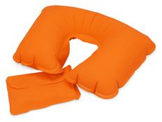 Подушка Сеньос, оранжевый фото