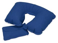 Подушка надувная Сеньос, синяя фото