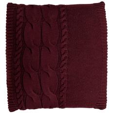 Подушка Stille, бордовая фото