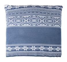 Подушка Teplo Скандик, синяя фото